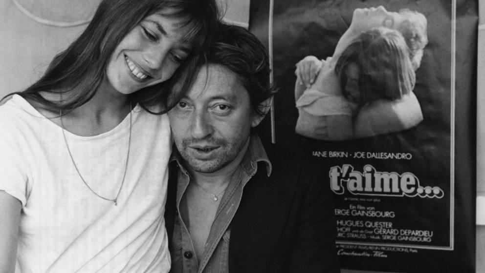 Serge Gainsbourg und Jane Birkin