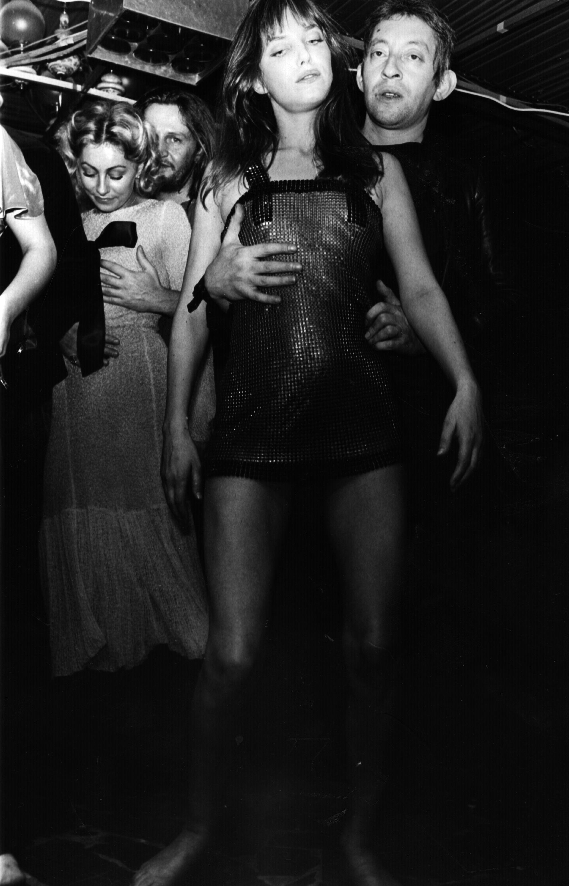 Jane Birkin und Serge Gainsbourg tanzen den 'Decadanse'