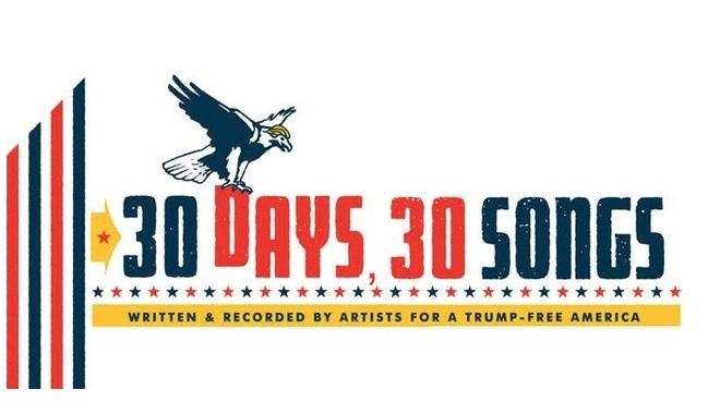 Mit 30 Songs gegen Donald Trump - kann das erfolgreich sein?