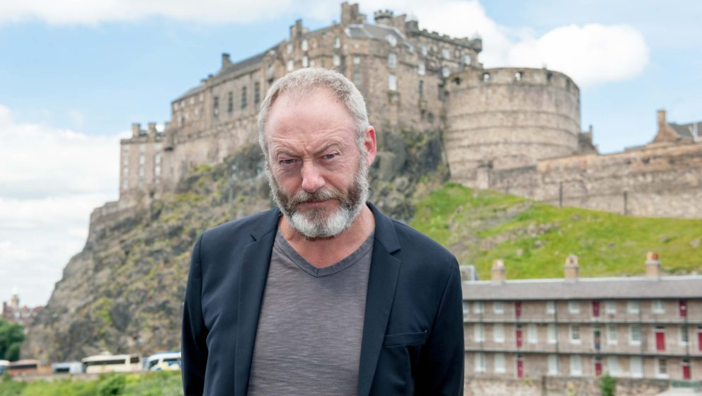 EDINBURGH, UNITED KINGDOM - JUNE 20: Liam Cunningham attends 'Let us pray' photocall at Apex International Hotel during the E