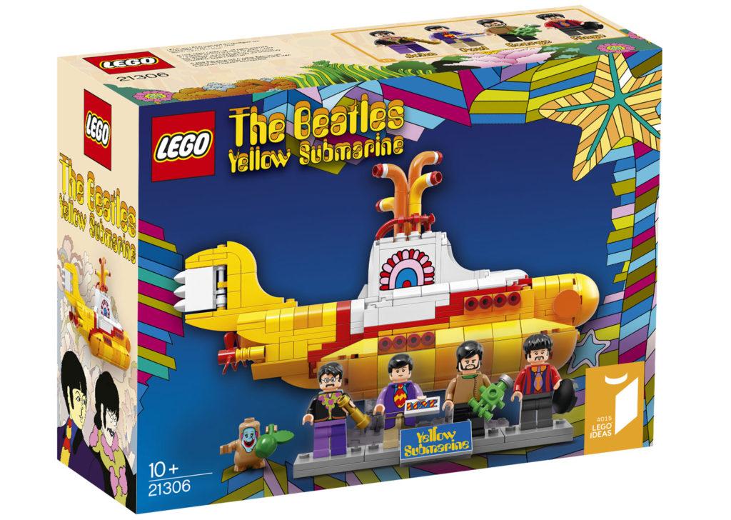 """So sieht die Box des Beatles-Set zu """"Yellow Sumbarine"""" aus."""