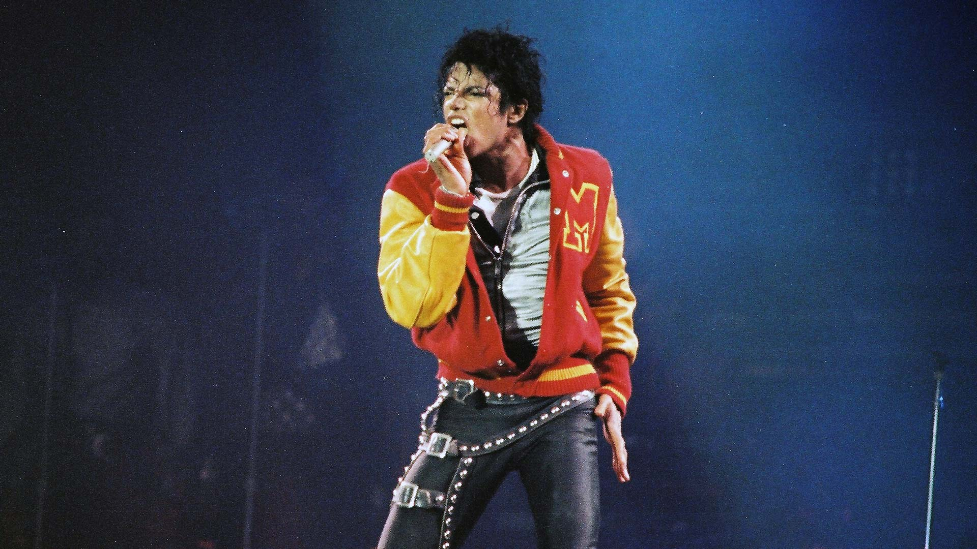 Michael Jackson live in Wembley, im Jahr 1988
