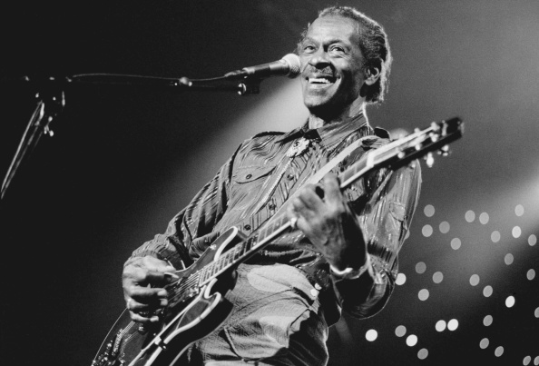 THE HAGUE, NETHERLANDS - JULY 14: Chuck Berry, vocal-guitar, performs at the North Sea Jazz Festival in the Hague, Netherland