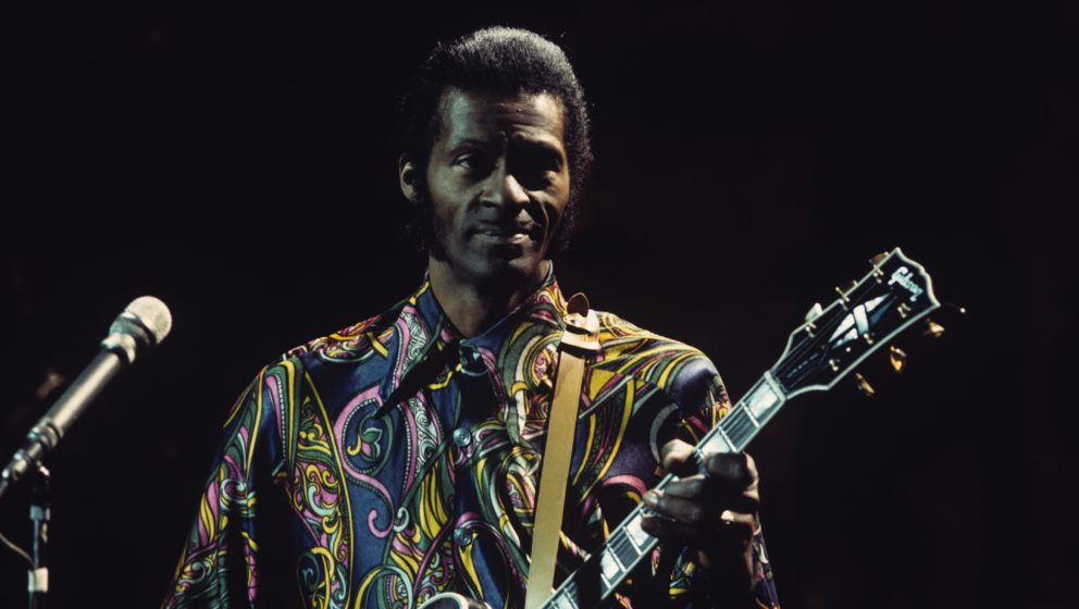 Chuck Berry spielt in einer US-Fernsehsendung (1972)