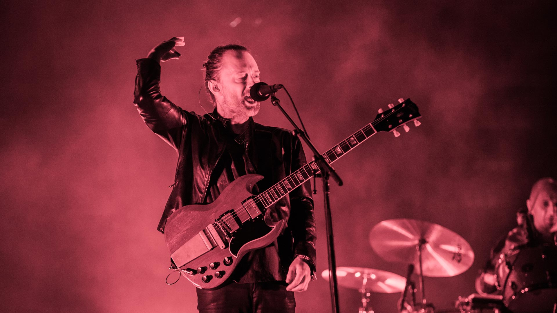 Radiohead live beim AOL Music Festival 2016