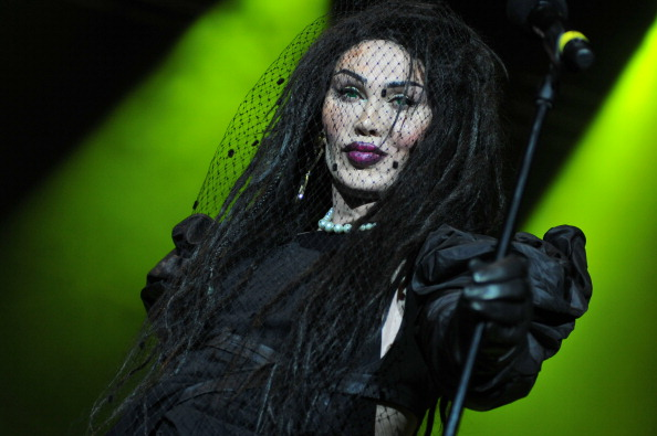 LONDON, UNITED KINGDOM - DECEMBER 21: Pete Burns of Dead or Alive performs on stage at Hit Factory Live: Christmas Cracker at