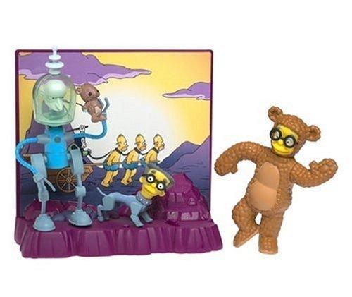 """Einer der vielen (nicht ganz so positiven) Zukunftsprojektionen der """"Simpsons"""""""