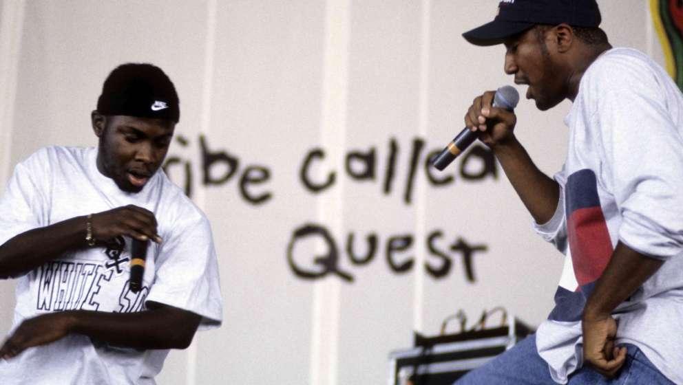 A Tribe Called Quest bei einem Live-Auftritt im Jahr 1994