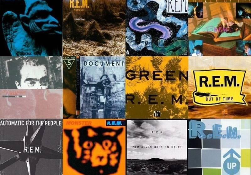 Alle Alben von R.E.M. auf einen Blick