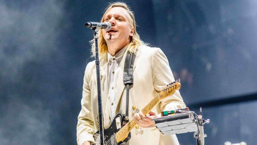 Win Butler von Arcade Fire bei der Voodoo Music + Arts Experience