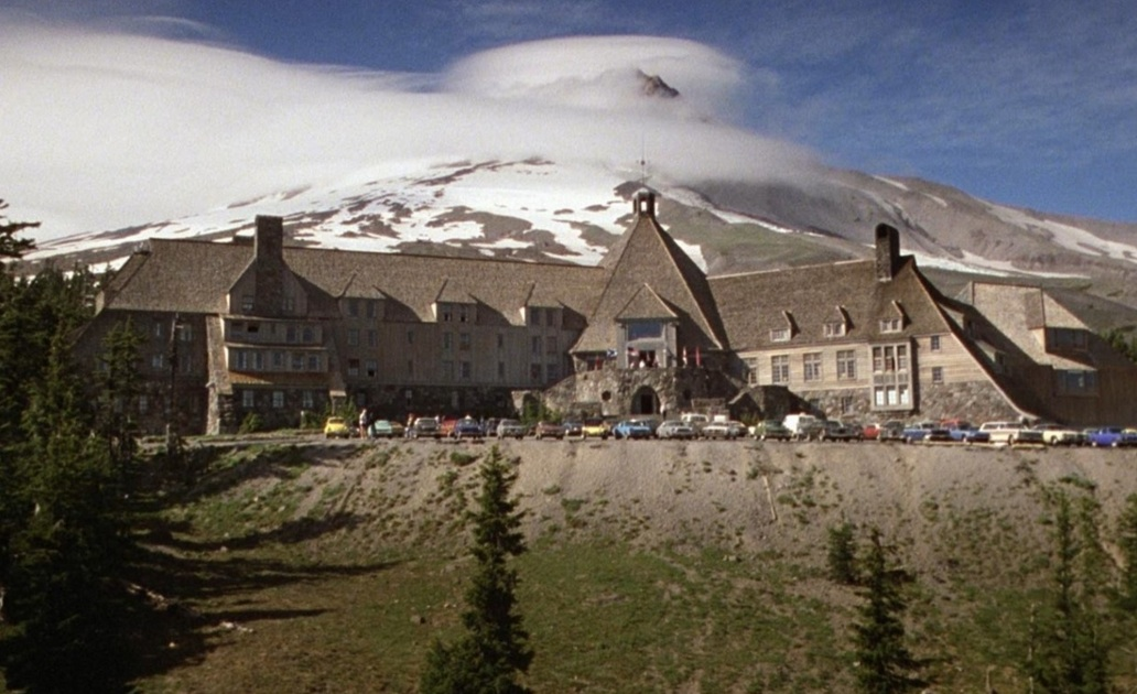 """Ein Blick auf das Overlook Hotel in """"Shining"""""""