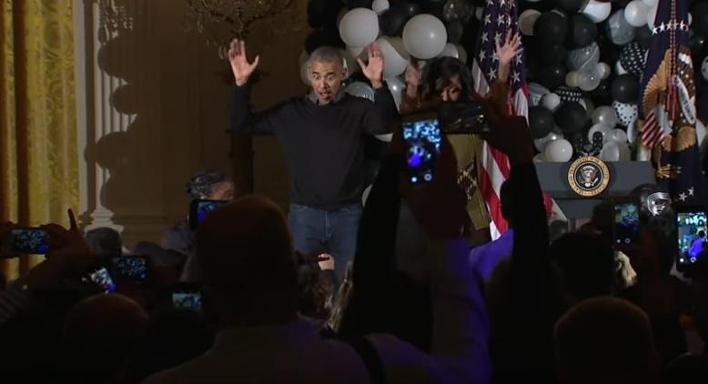 Präsident Barack Obama feiert seine letzte Party im Weißen Haus am 06. Januar mit Beyoncé, Jay Z, McCartney & Co..
