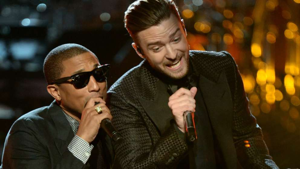 Dreamteam: Pharrell Williams und Justin Timberlake