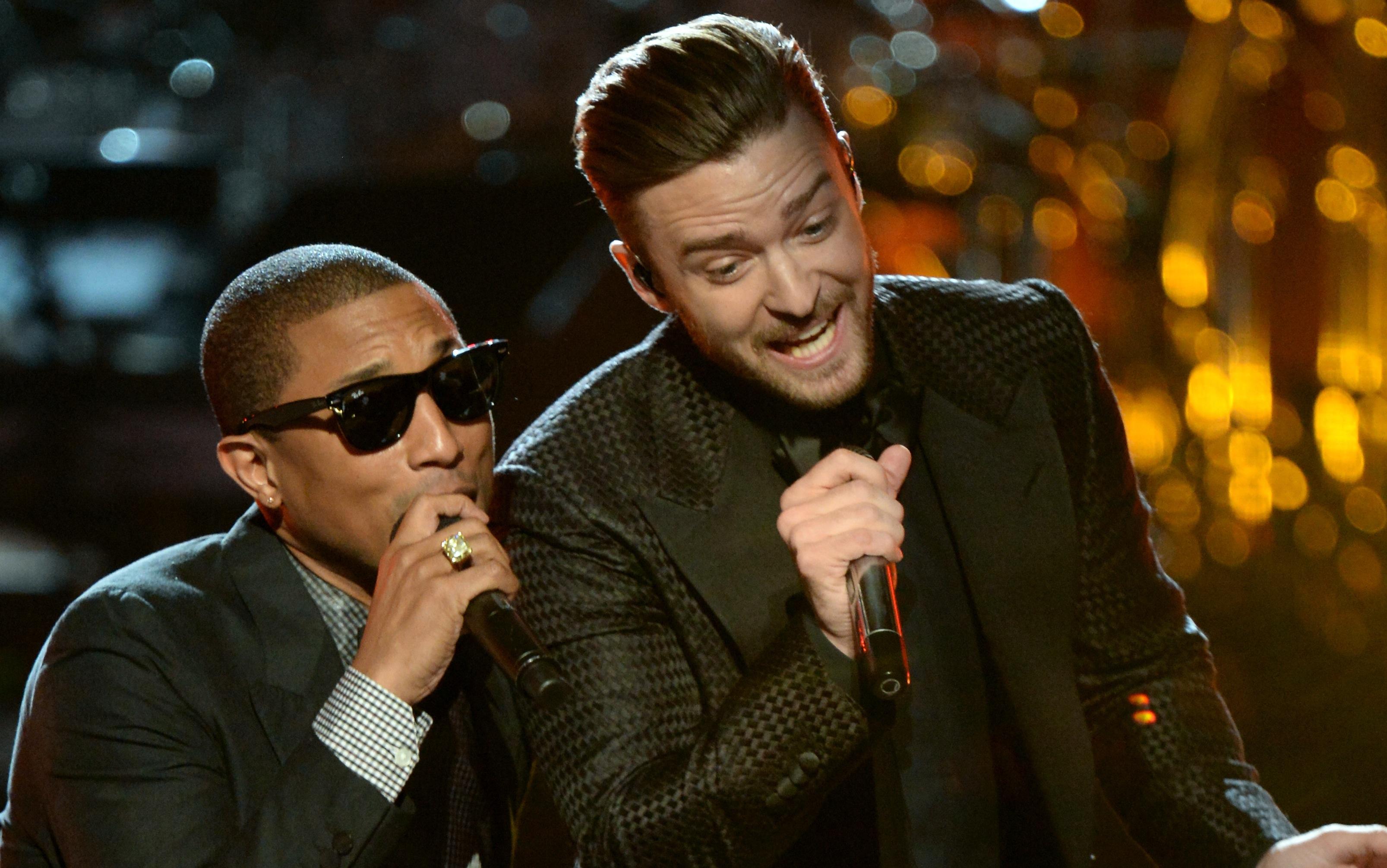 Dreamteam: Pharrell Williams und Justin Timberlake