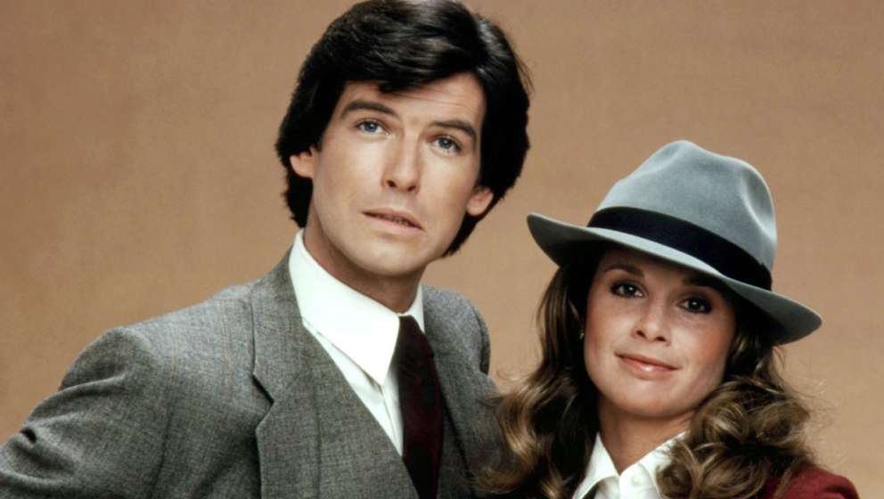 Pierce Brosnan und Stephanie Zimbalist