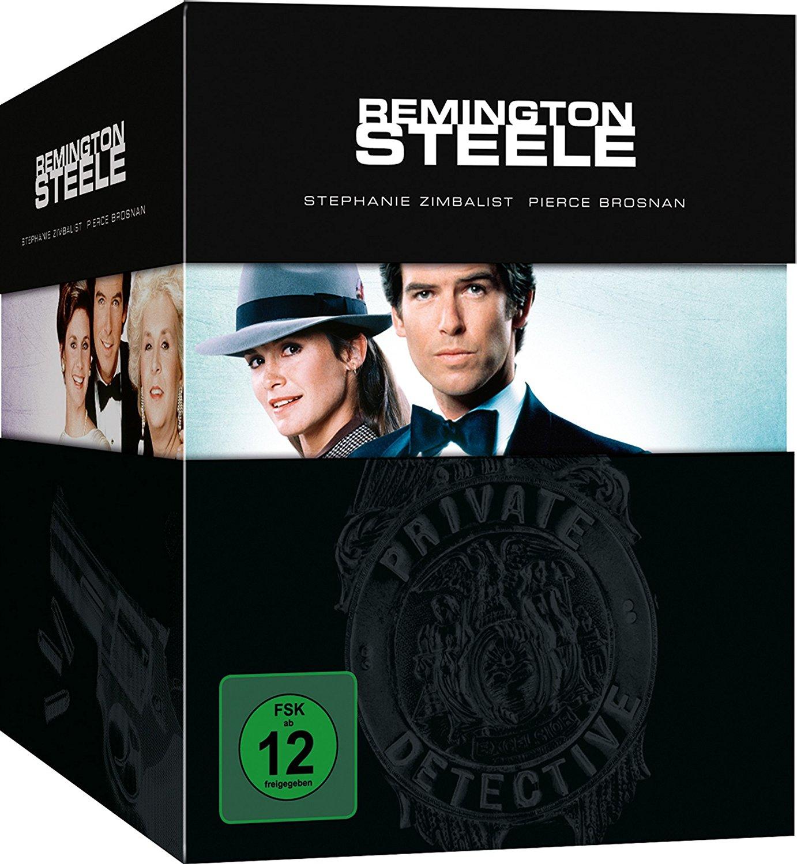 """Alle Folgen von """"Remington Steele"""" in einer Box"""