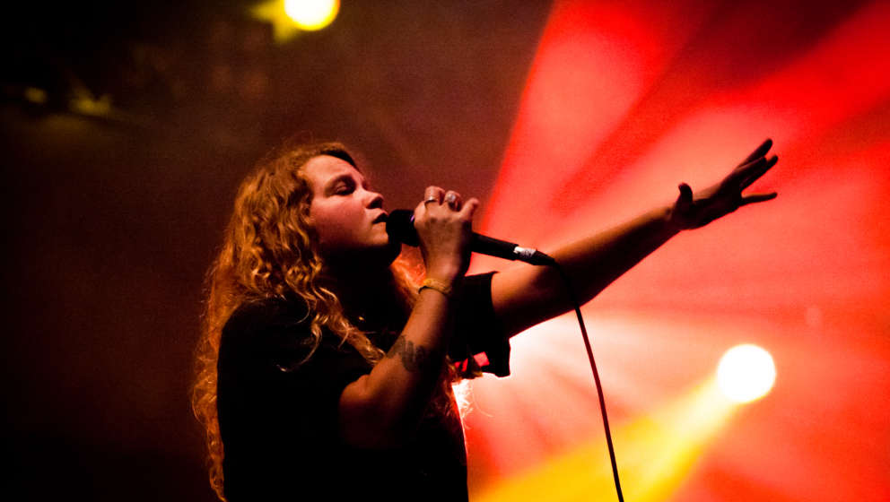 PORTMEIRION, WALES - SEPTEMBER 04:  Kate Tempest performs on day 2 of Festival No 6 on September 4, 2015 in Portmeirion, Wale