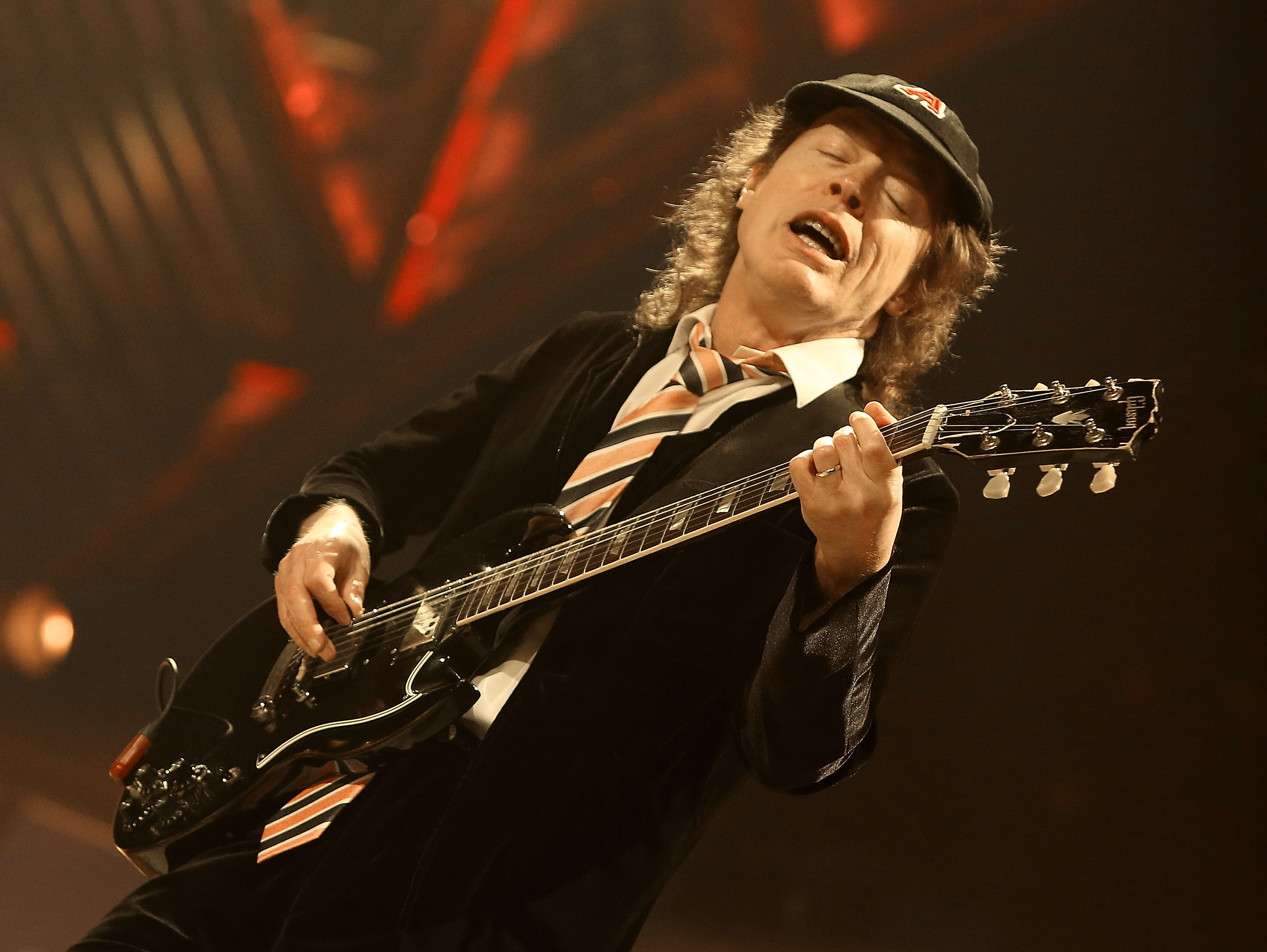 Angus Young mit AC/DC live 2016