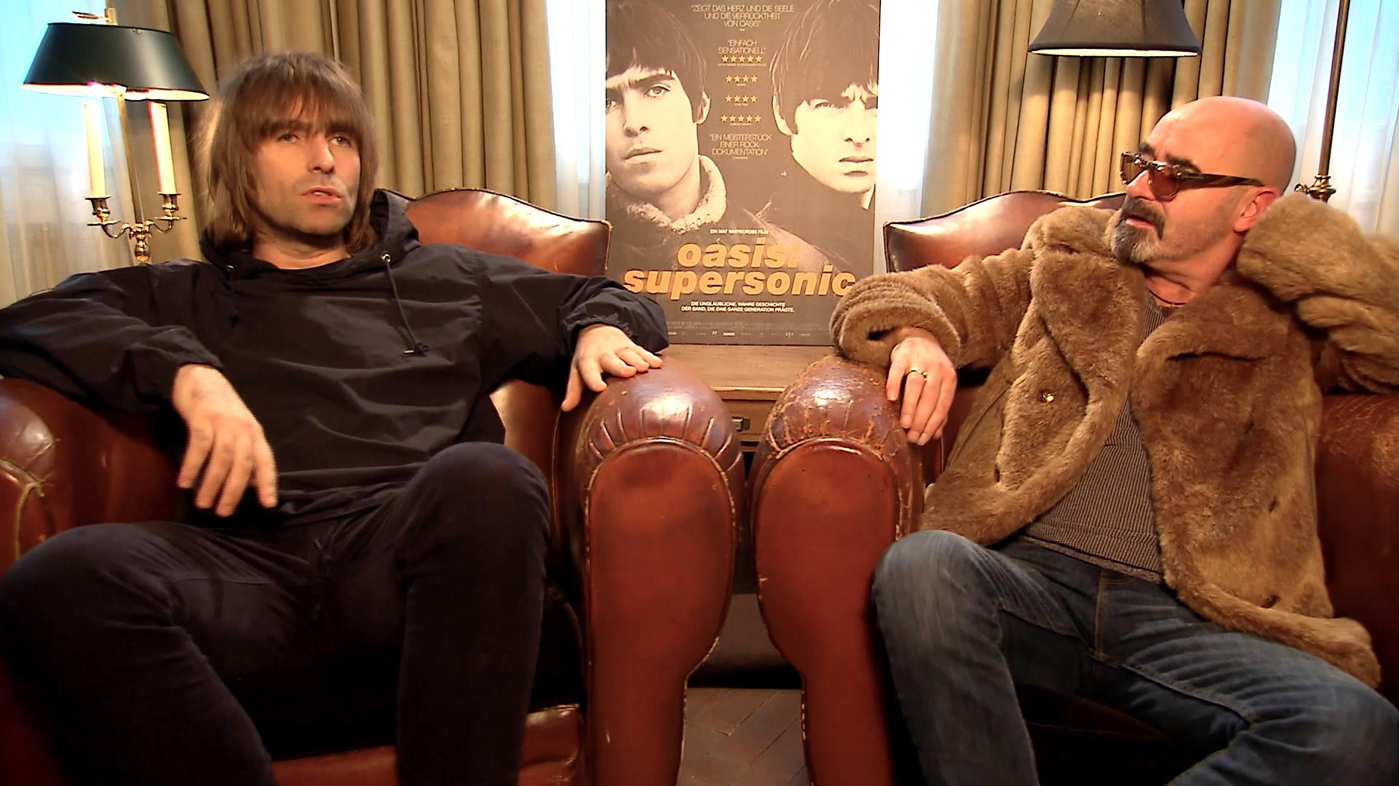 "Liam Gallagher und Paul ""Bonehead"" Arthurs im RS-Gespräch"