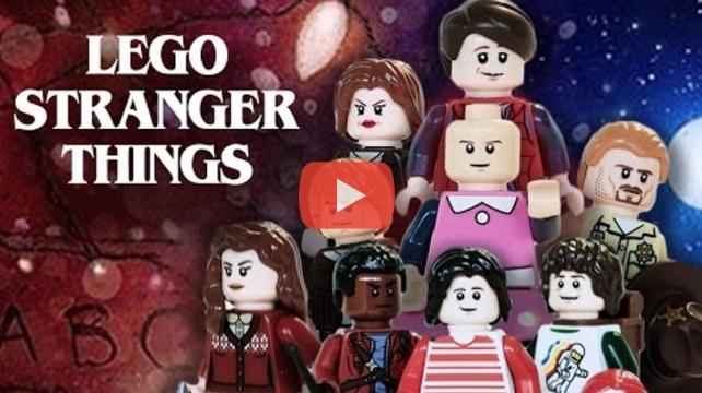 "Lego, 80er-Jahre, ""Stranger Things"" - das passt perfekt"