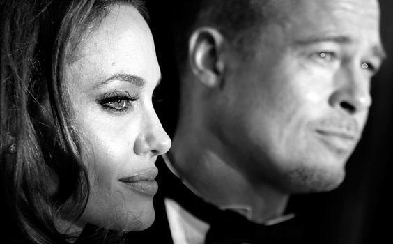 Angelina Jolie und Brad Pitt im Februar 2014
