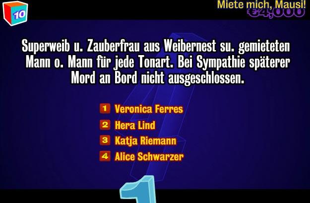 """Deutsche Prominente bekamen bei """"You Don't Know Jack"""" oft ihr Fett weg"""