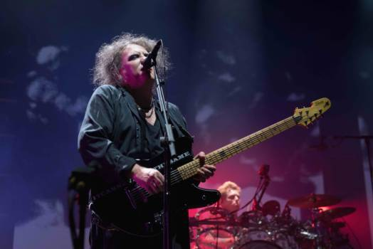 The Cure Perform In Bologna