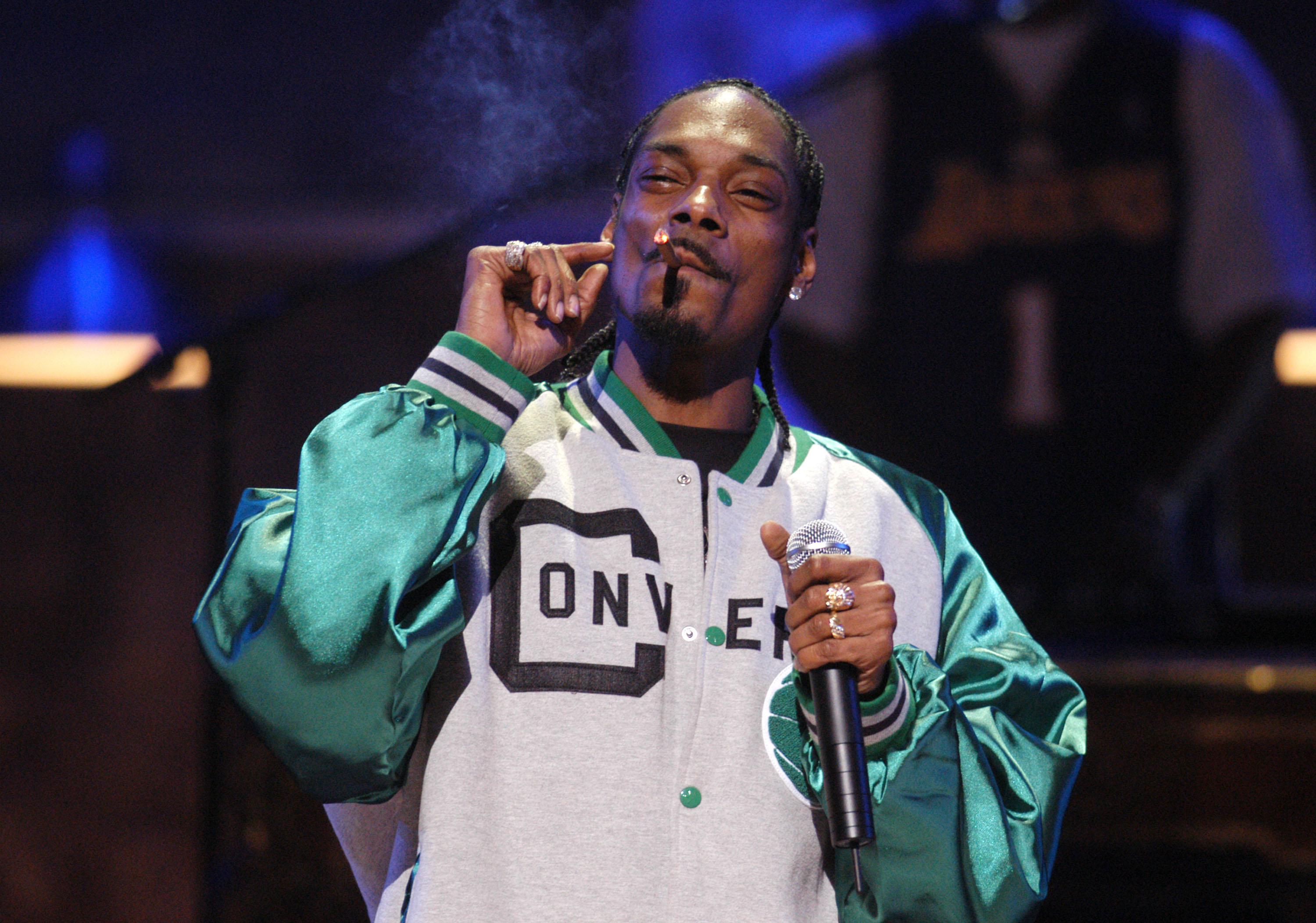 Snoop Dogg during COMEDY CENTRAL's Bar Mitzvah Bash! - Show at Hammerstein Ballroom in New York City, New York, United States