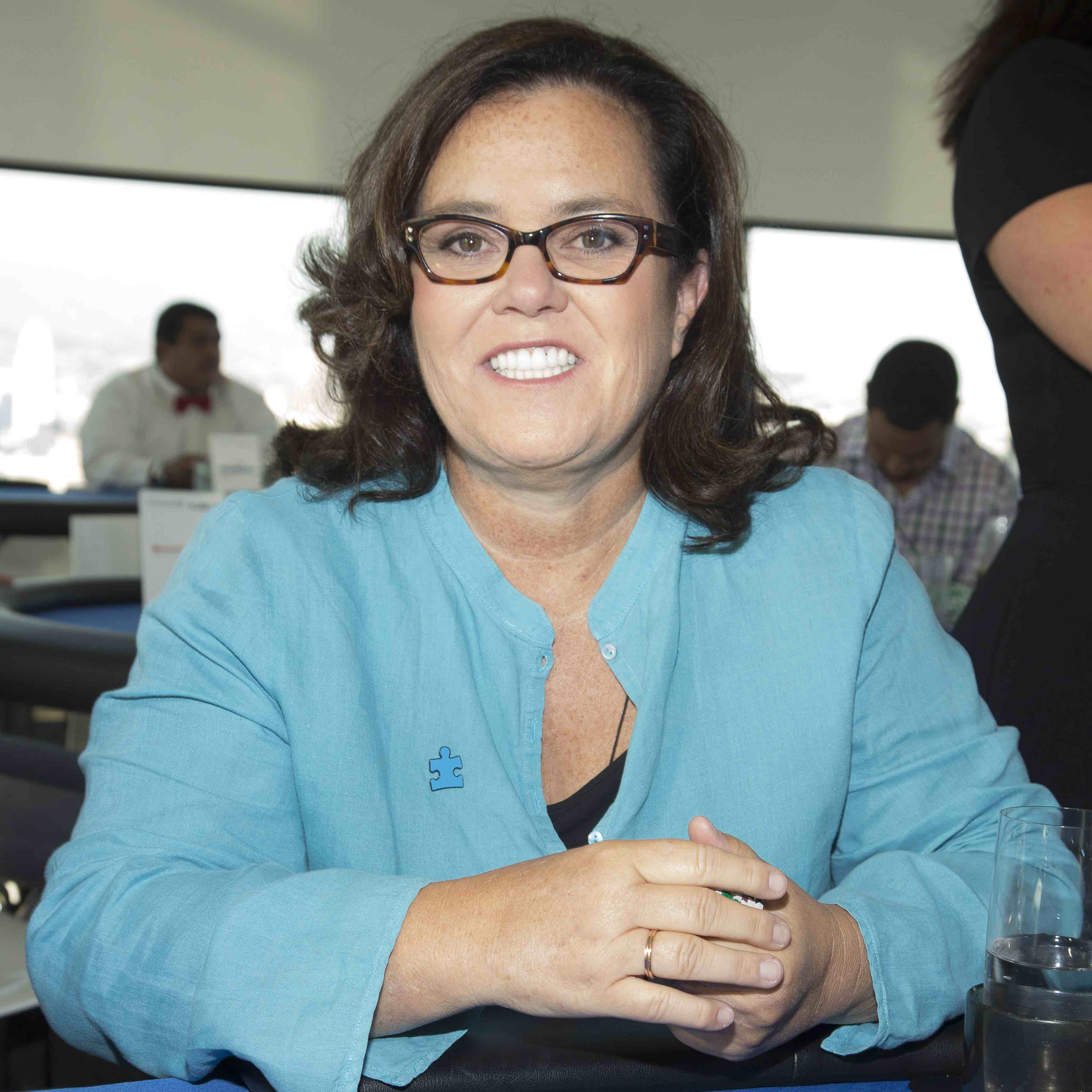 LOS ANGELES, CA - AUGUST 06:  Rosie O'Donnell attends the 4th Annual Ed Asner And Friends Poker Tournament For Autism Speaks