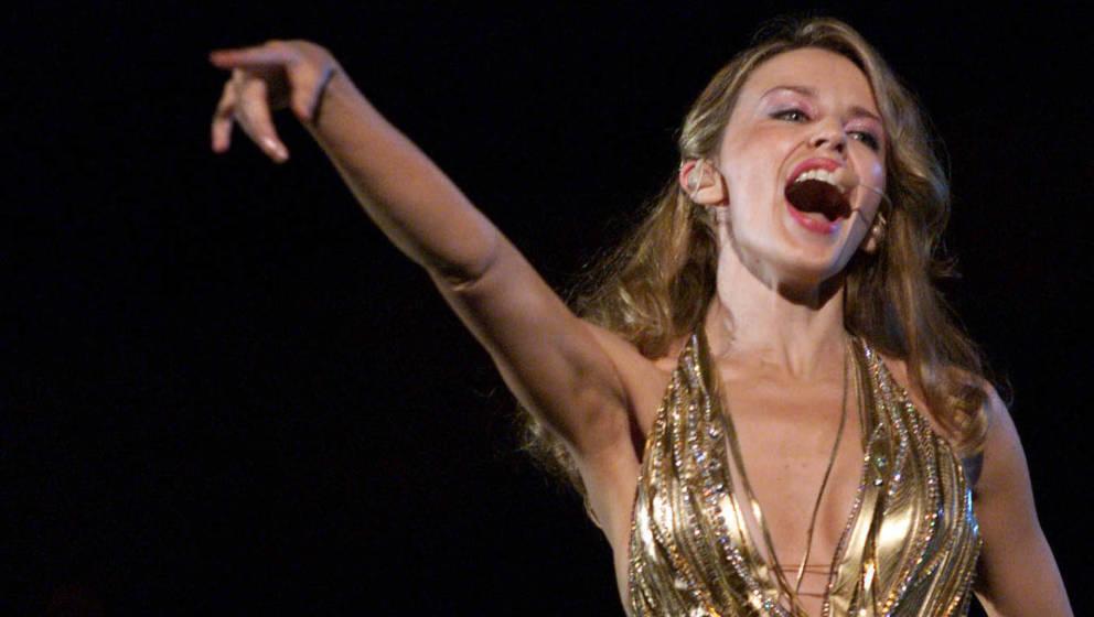 Kylie Minogue landete 2001 mit 'Can't Get You Out Of My Head' einen Ohrwurm