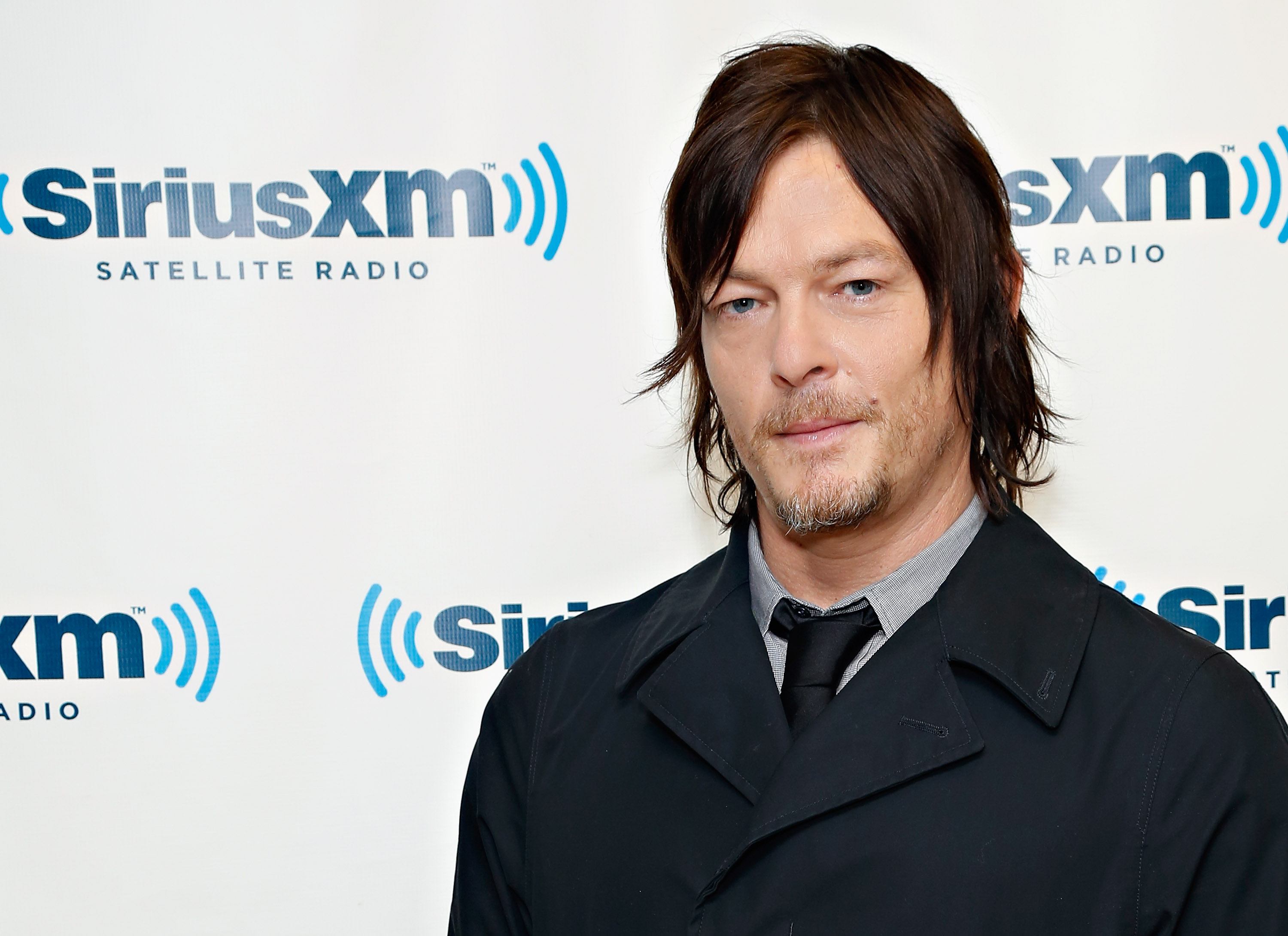 NEW YORK, NY - OCTOBER 11:  Actor Norman Reedus visits the SiriusXM Studios on October 11, 2013 in New York City.  (Photo by