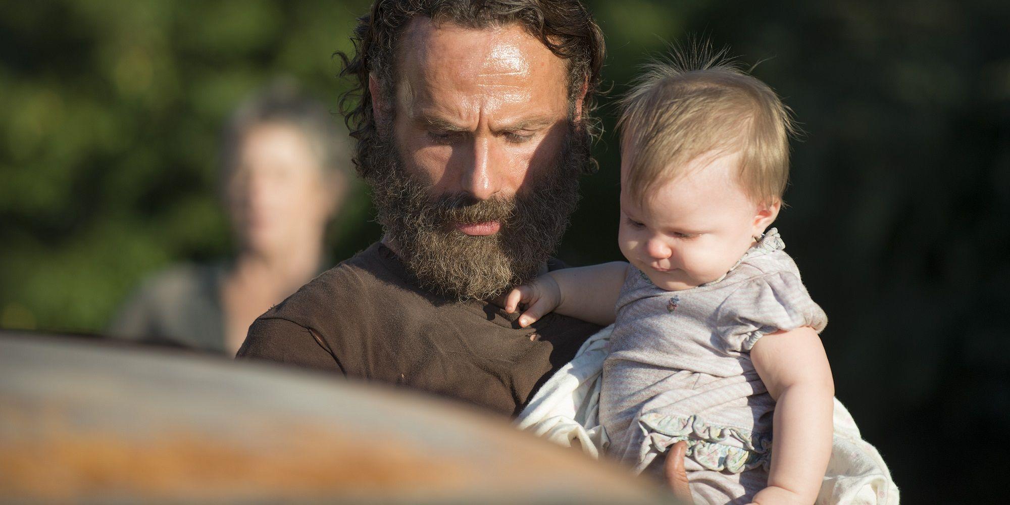 "Fünf Staffeln lang blieb unklar in ""The Walking Dead"", wer Judiths echter Vater ist"