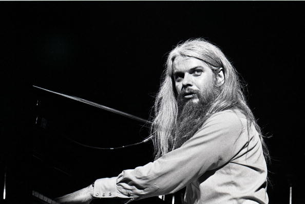 UNITED STATES - JANUARY 01:  Photo of Leon RUSSELL; Leon Russell performing on stage, playing piano  (Photo by Robert Knight