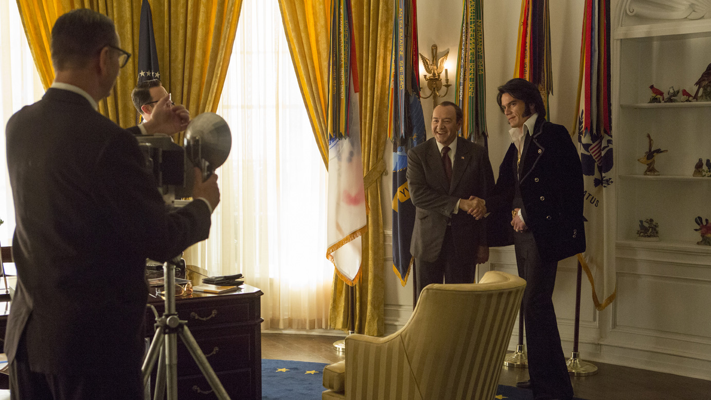 "Filmszene aus ""Elvis & Nixon"""