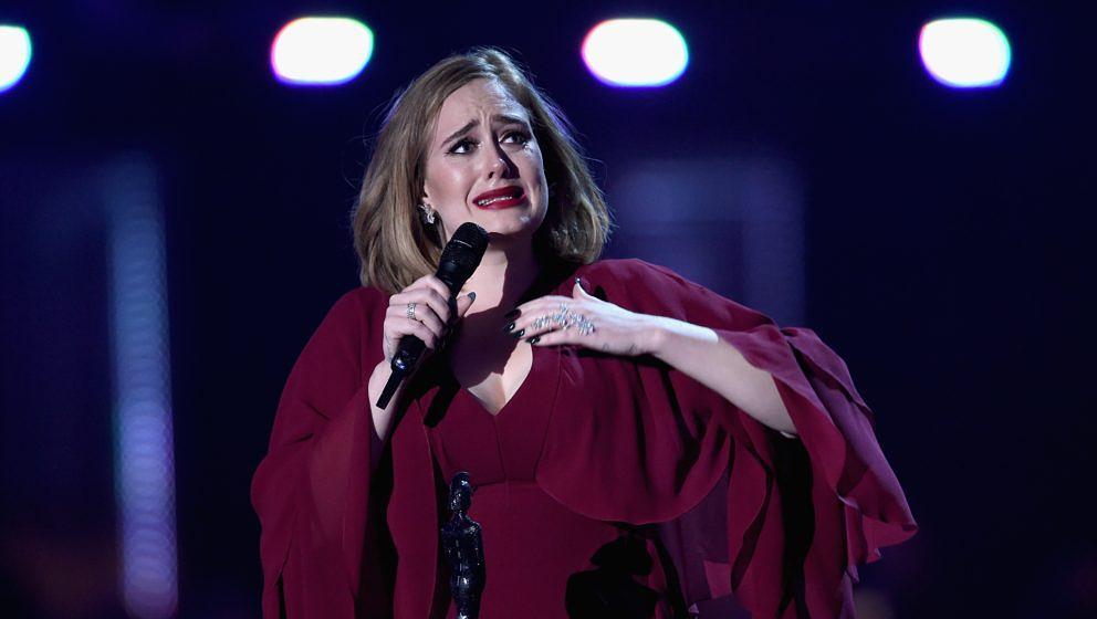 Adele völlig aufgelöst