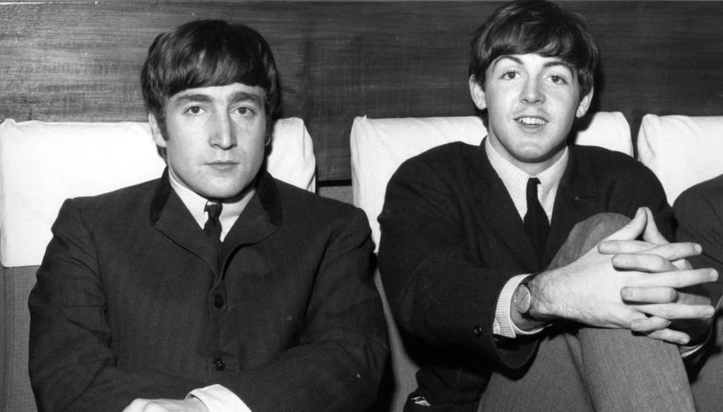 Lennon/McCartney zu Zeiten, als die Konflikte noch nicht gärten