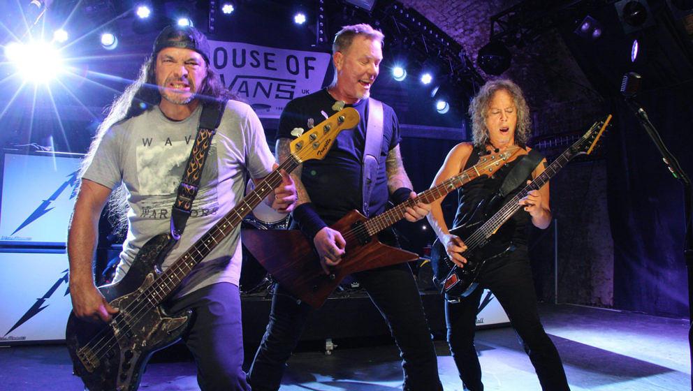 """Metallica bei ihrem Auftritt im """"House Of Vans"""" in London am 18.11.2016"""