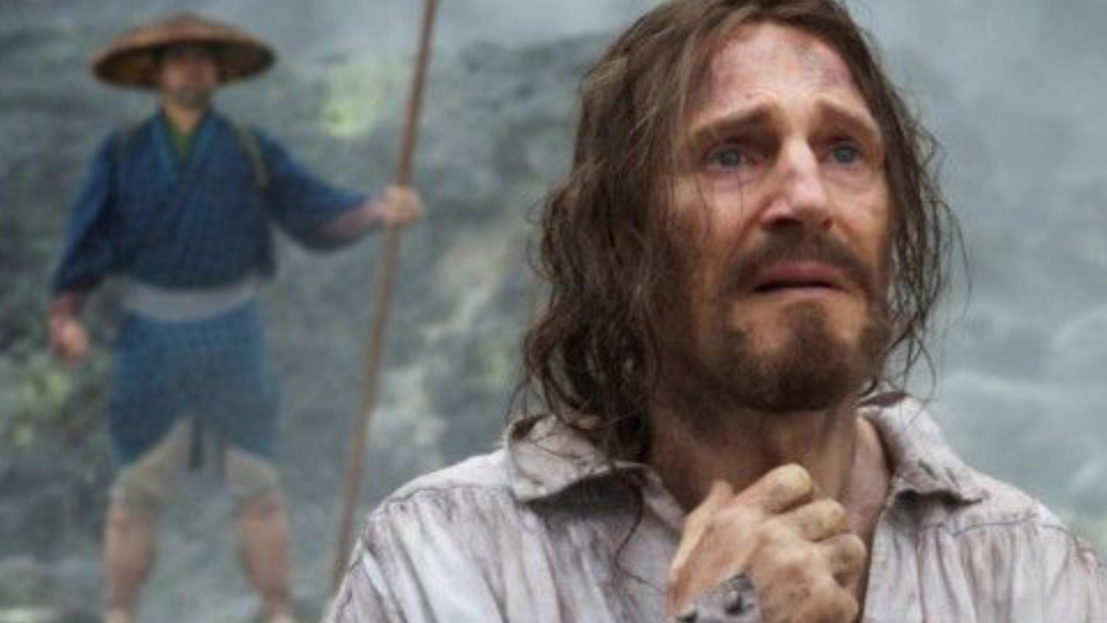 """Szene aus """"Silence"""" mit Liam Neeson"""