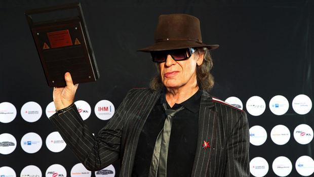 Udo Lindenberg mit dem Hamburger Musikpreis
