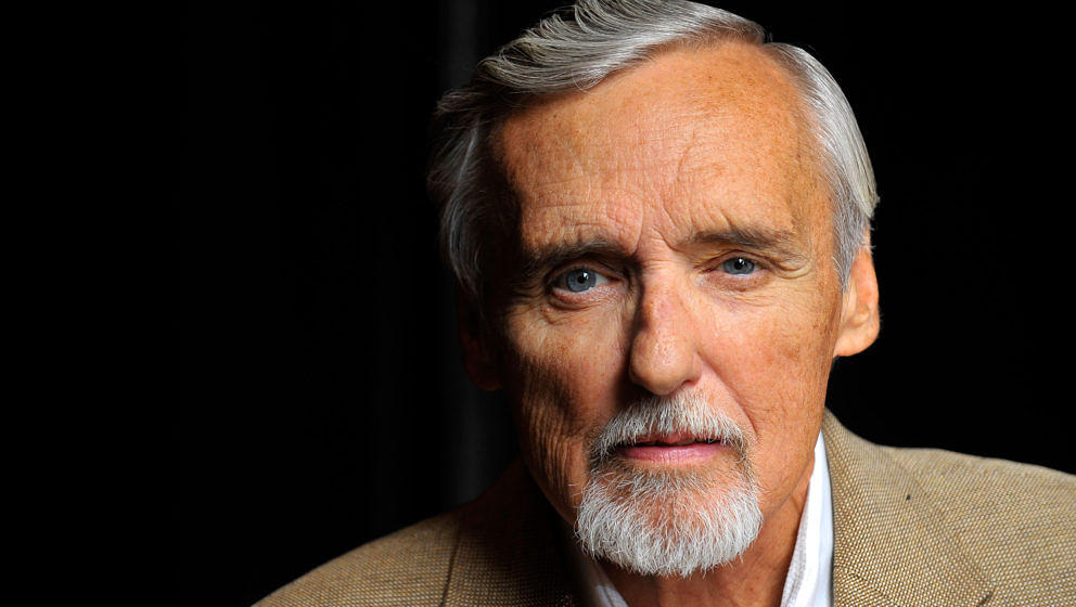LAS VEGAS - JUNE 14:  Actor and chair of the CineVegas creative advisory board Dennis Hopper poses for a portrait during the