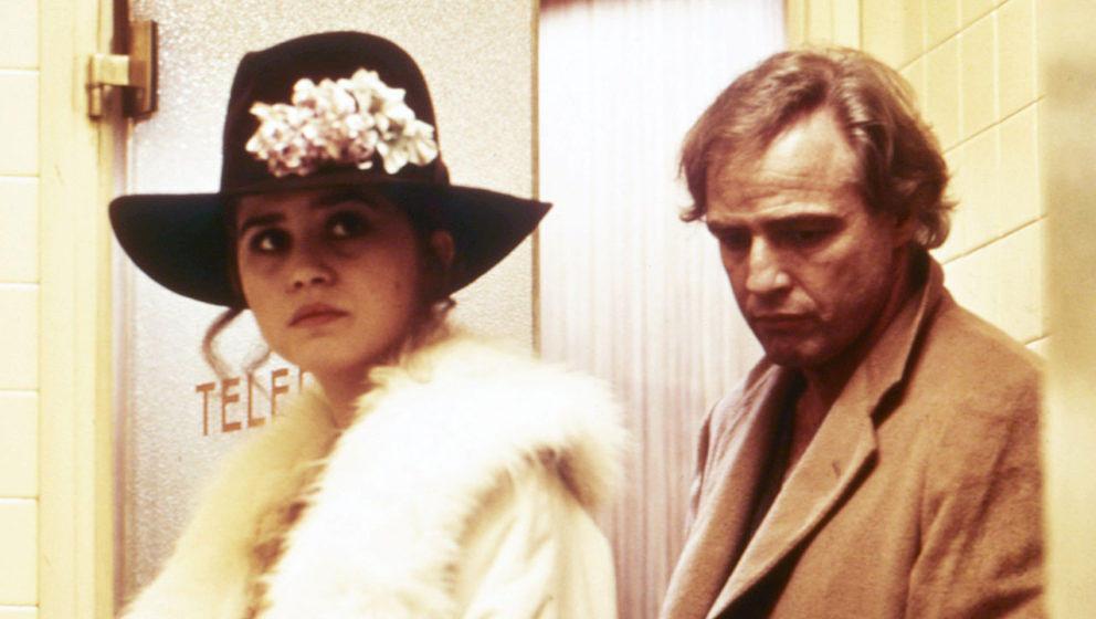 """Marlon Brando und Maria Schneider in einer Szene aus """"Der letzte Tango in Paris"""""""