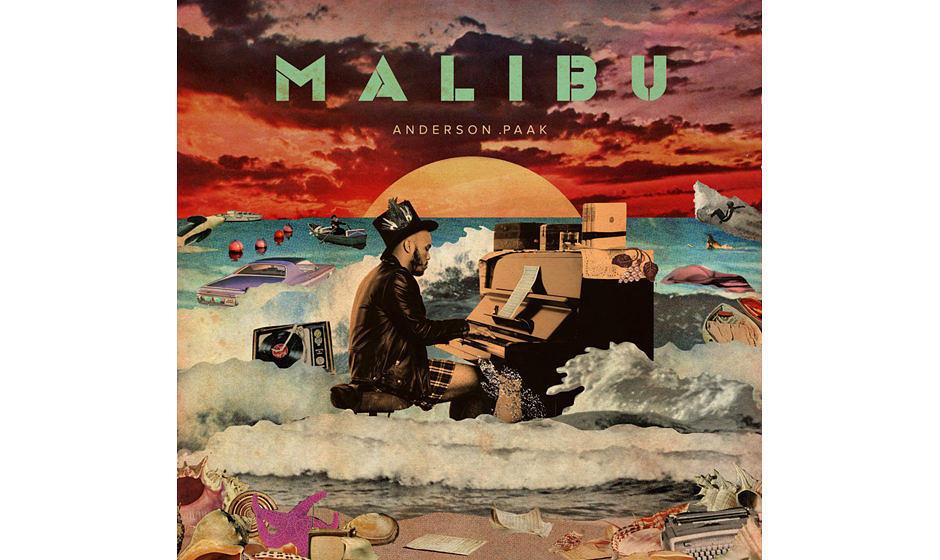 """22. Anderson Paak – """"Malibu"""".  """"Malibu"""" mutet an wie eine Art Gegenstück zu Kendrick Lamars HipHop-Epos """"To Pimp"""