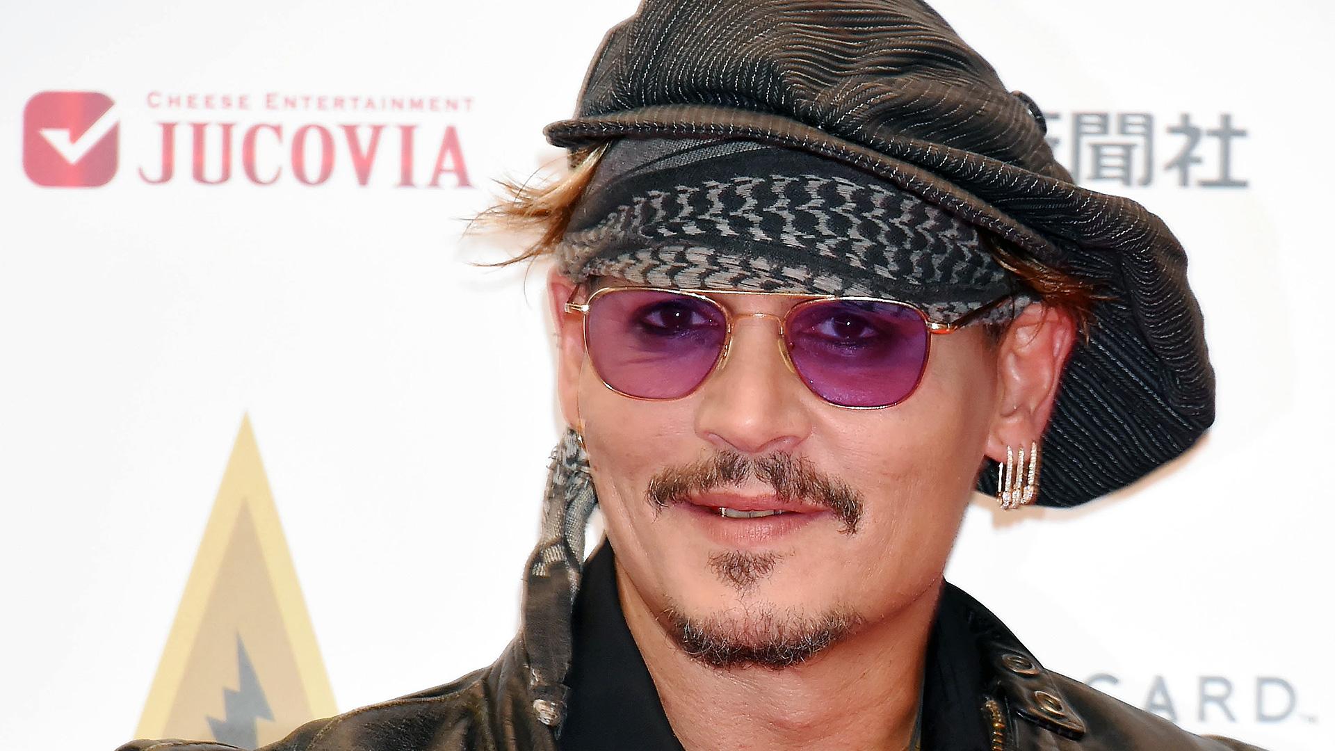 Johnny Depp bei den Classic Rock Awards 2016