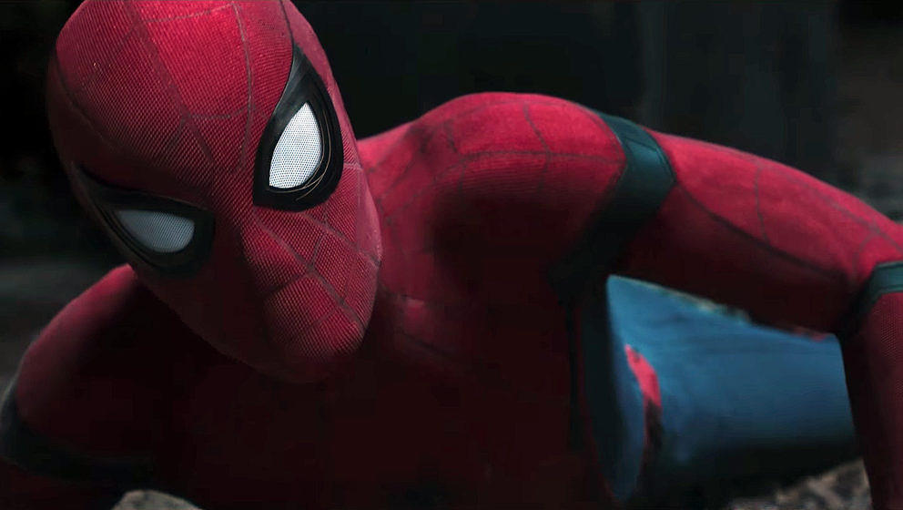 "Spider-Man im Trailer zu ""Spider-Man: Homecoming"""