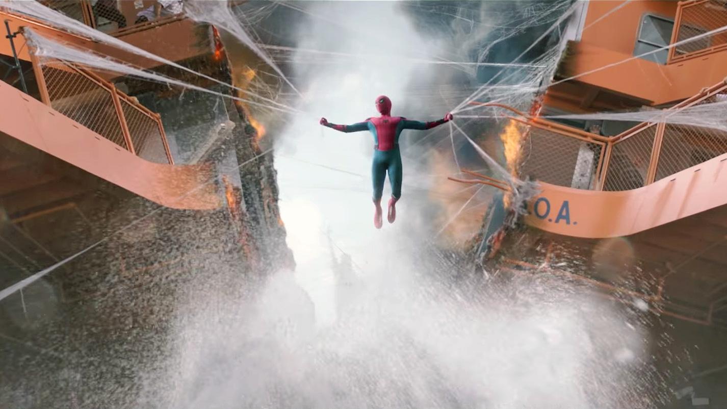 """Spider-Man im Trailer zu """"Spider-Man: Homecoming"""""""