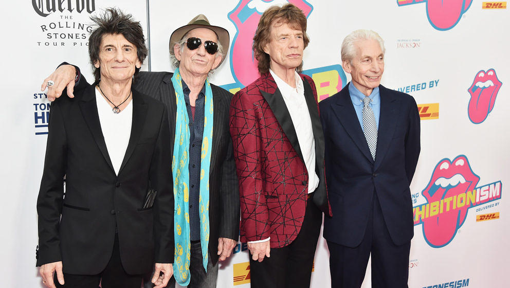 The Rolling Stones konnten wieder einen Charts-Erfolg für sich verbuchen.