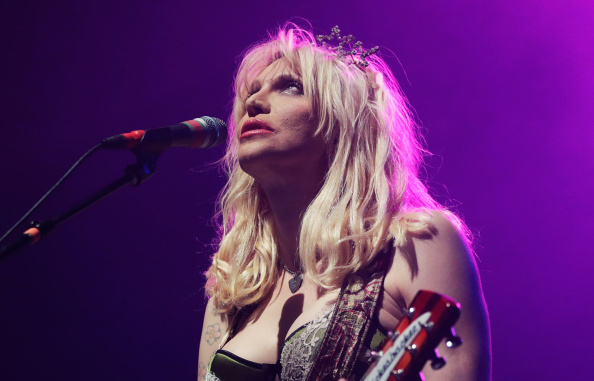 SYDNEY, AUSTRALIA - AUGUST 24:  Courtney Love performs 'You Know My Name' tour at Enmore Theatre on August 24, 2014 in Sydney
