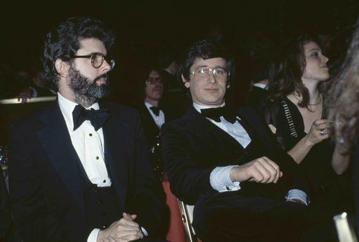 Spielberg und George Lucas 1978