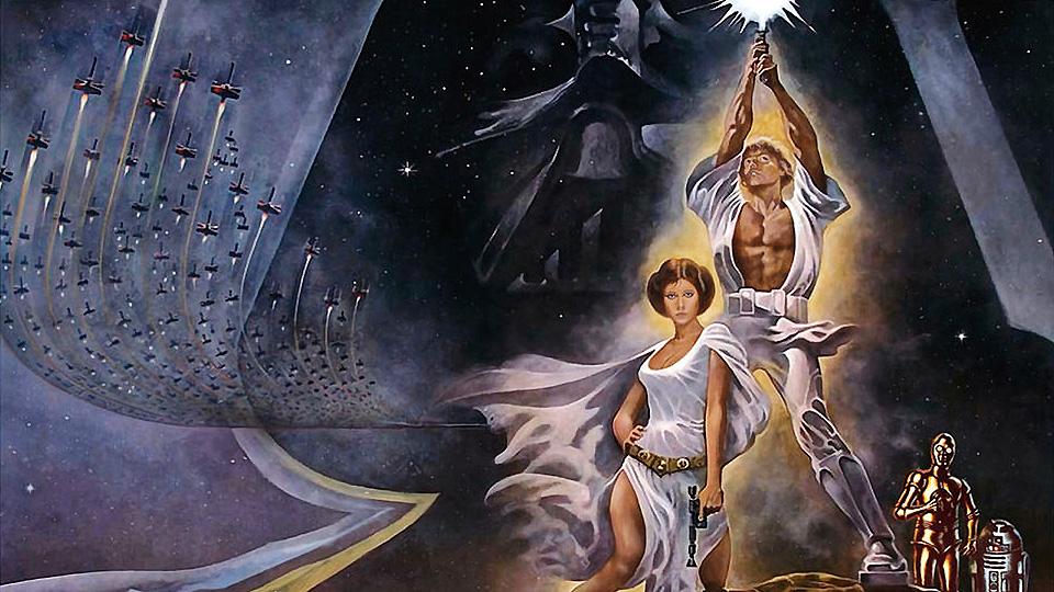 """""""Star Wars: Episode IV - Eine neue Hoffnung"""": Filmposter"""