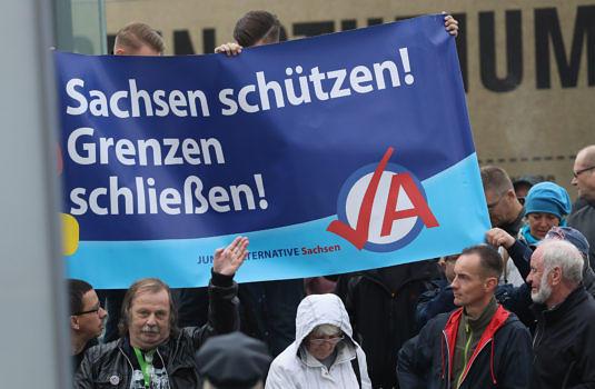 Dresdner Anhänger der AfD